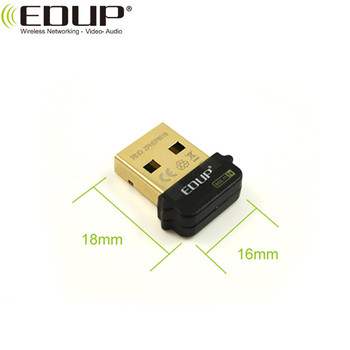 EDUP Hot Sale Products Realtek8188CUS Chipset 150Mbps 2.4GHz Wireless  adapter