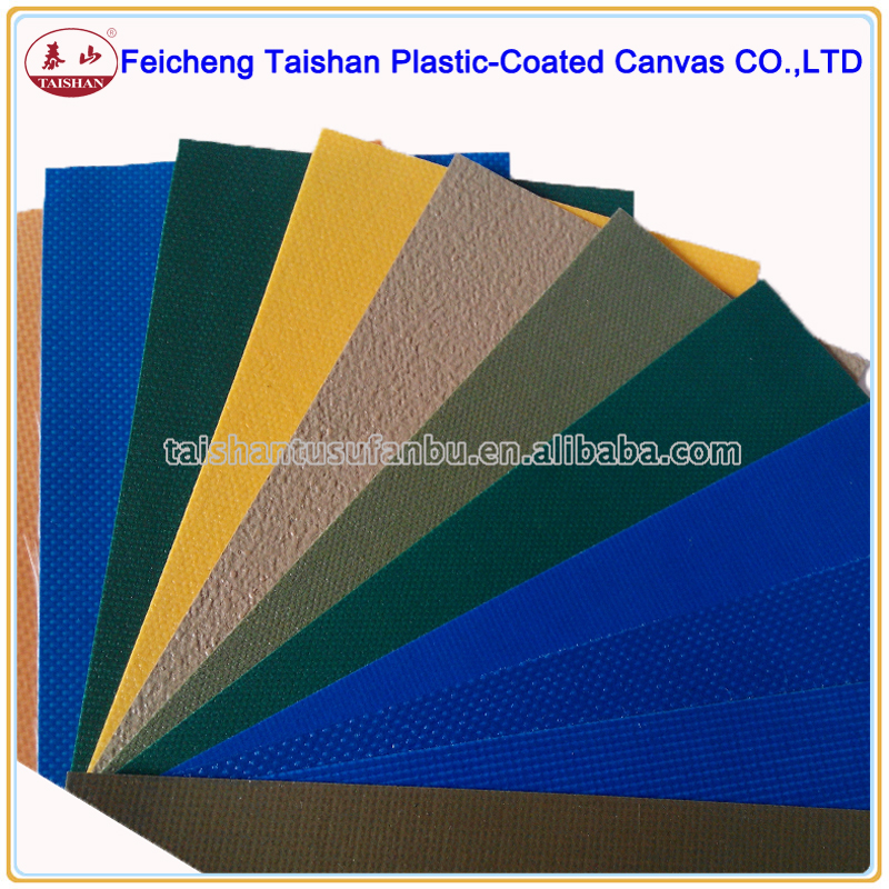 China factory price pvc coated polyester fabric tarpaulin for Awning