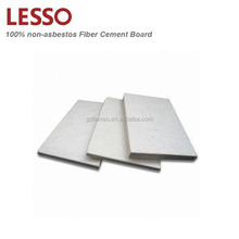Flexible 6-20mm thick glass fiber reinforced cement board for interior partition wall