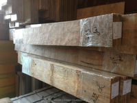 Reclaimed teak wall mozaik