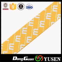 Heat transfer polyester custom guitar strap with free samples in china