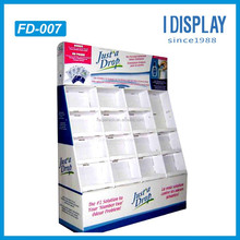 Cardboard Floor Display Carton with 4 layer and 4 row