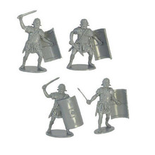 ICTI certificated custom made small Roman toy soldiers arms plastic figures