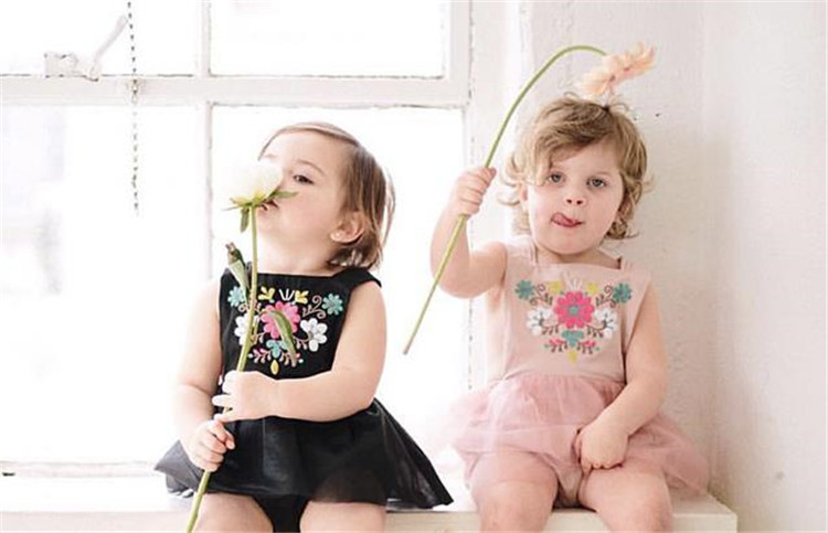 LA1727 Bulk sale children clothes baby rompers vintage infant clothes romper