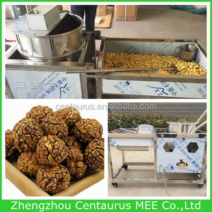New type corn popper and maker with popcon machine wheel with lowest price