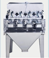 0.5 litre Hopper small 4 head Linear Weigher weight scales for food packing machine