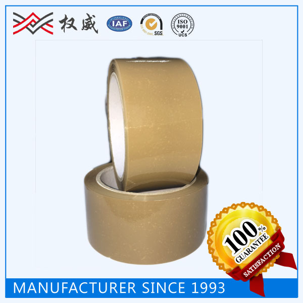 TAPE MANUFACTURER, STRONG ADHESION ACRYLIC BOPP BROWN PACKING TAPE FOR PARCEL