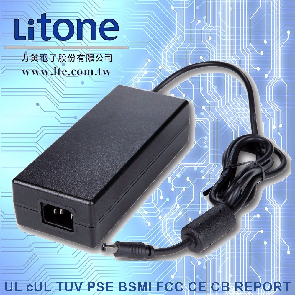 OEM ODM LTE120ES - S4 24V 5A 120W UL Certificated Laptop Switching AC to DC Desktop Power Adapter