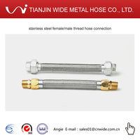 stainless steel female/male thread hose connection