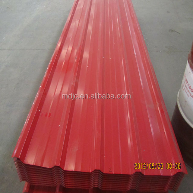 color roof tile, metal roofing, prepainted steel corrugated roofing sheets made in China