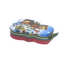 Food Grade Christmas Empty Cookie Gift Tins