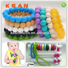 Silicone Teething Bead Bracelet/Food Grade Safe Nursing Jewelry Kean Fashion