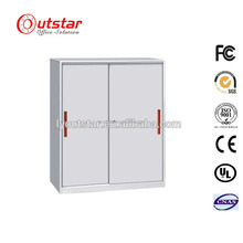 Popular sliding door file cabient / sliding door utility cabinet / Metal low filing cabinet