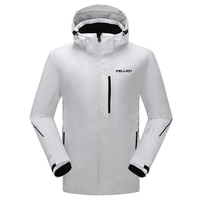 waterproof and windproof speed men snow overall professional ski racing apparel LED ski suit winter