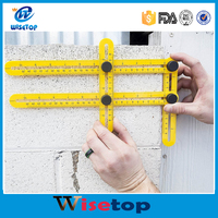FBA Angle-izer Template Tool, Multi-Angle Measuring Ruler, General Angleizer Template Ruler for Handymen Builders Craftsmen