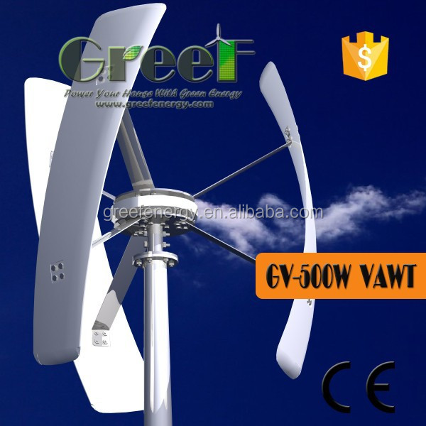 500W Vertical Wind Turbine Funding