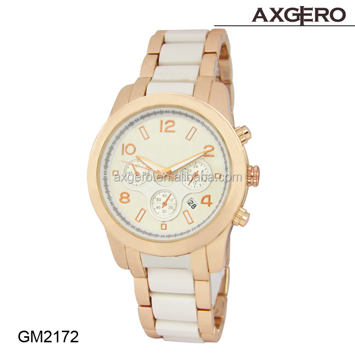 2015 best selling vogue ladies geneva quartz watch stainless steel watch case geneva stainless steel watch