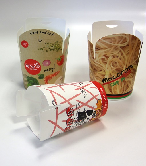 COMPETITIVE PRICE!!! Noddle Meal Salad fast food paper Folded box container