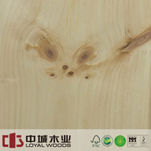 Wood veneer sheets lowes Knotty pine natural wood veneer from china