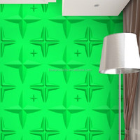 building decoration material 3d effect wall panel board bobu