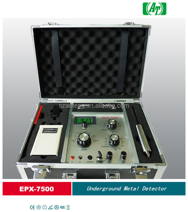 EPX-7500 Long range deep search gold diamond detector with high sensitivity