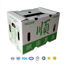 Alibaba top recommend fish vegetable chicken tofu waxed carton box