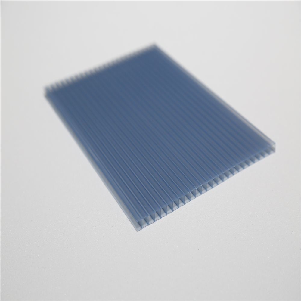 4mm-10mm uv light diffusion hollow pc sheet for LED panel