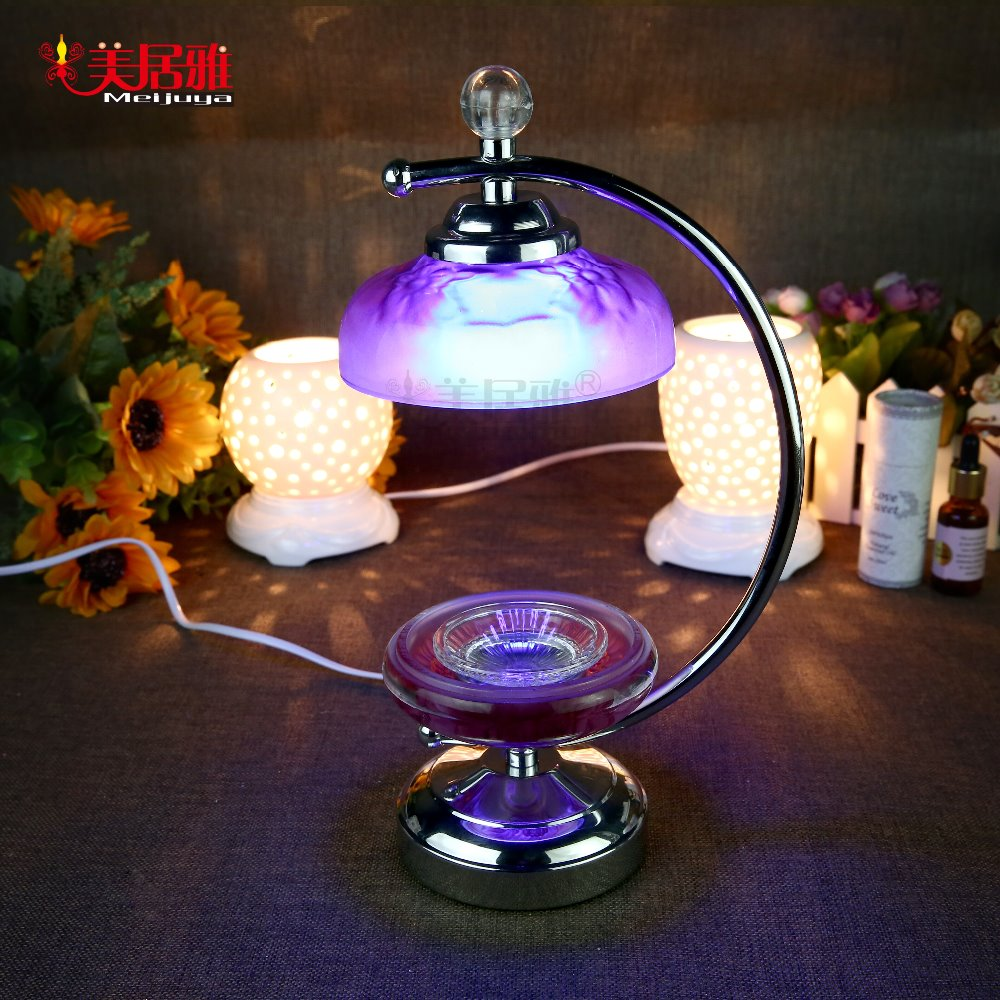 Wholesale electric LED lamp metal flower art lamp