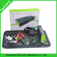 Best 13800mAh 12V Mini multi-function jump starter Portable car battery charger jump start power bank