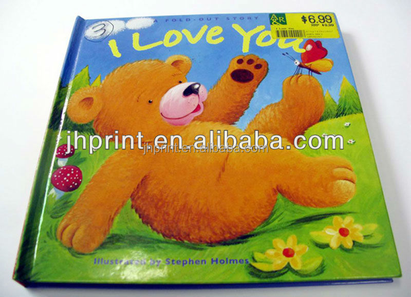 OEM printing wholesale customized full color children story reading book