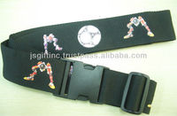 offset luggage buckle strap