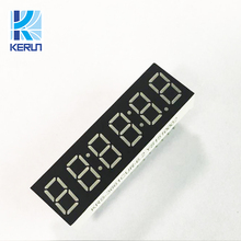 Trade Assurance Ultra red tupe six 6 digits 7 segment led display 0.36inch for home appliances