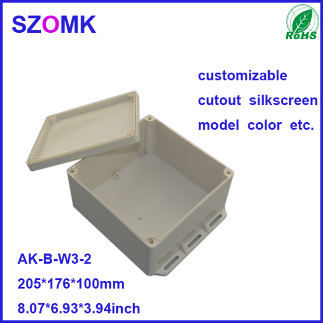 Waterproof Junction Box and Watertight Joint Enclosure for Electronics like PCB and GPS Tracker as Outdoor Distribution Cabinet