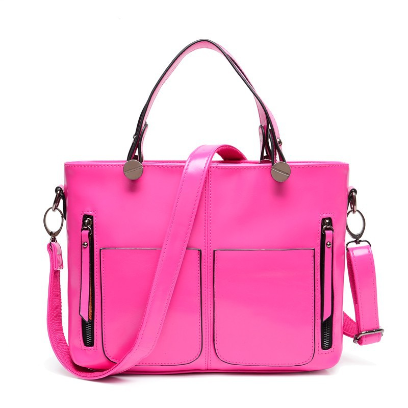 cheap leather ladies handbags shoulder bag from china supplier