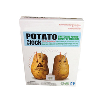 Potato clock Toys biomass power generator fruits science toys for kids