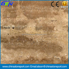 Top Sell Beautiful Royal Polished Dragon Vein Travertine Marble Tiles