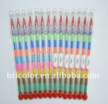 Popper multi titik warna lilin krayon