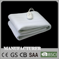 Polyester CE GS CB RoHS Manta Approved Washable Electric Heated Blanket