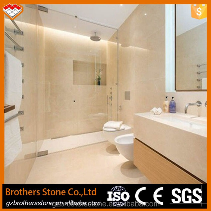 home depot china supplier hot sale spanish beige marble polished spanish crema marfil marble