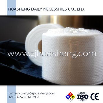 Cotton Disposable Roll Towel Dry Nonwoven Towel Towelettes