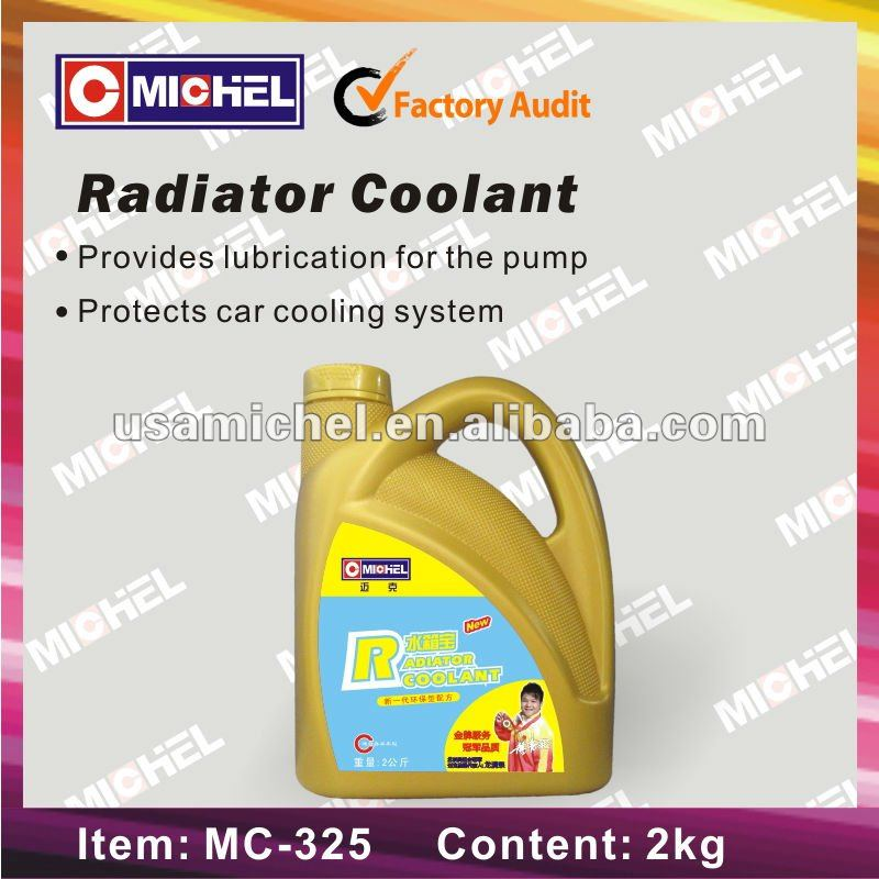 Car Engine Radiator Coolant