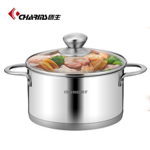 Stainless steel casserole design,Tempered glass cooking pot,Restaurant cooking electric pot