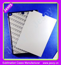 JESOY Hot Selling promotional 2D sublimation sheet TPU case for mobile phone with metal sheet for Ipad5