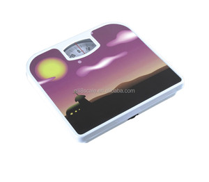 Household scales type mechanical bathroom scale