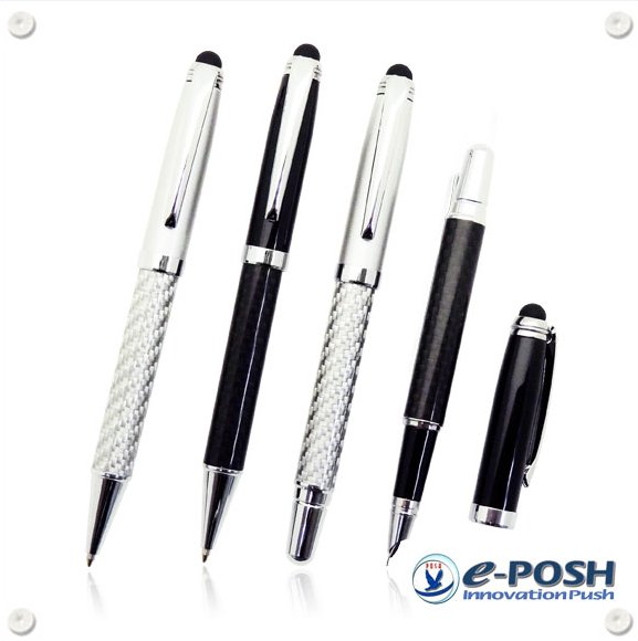 Carbon fiber pen - Luxury stylus ball pen