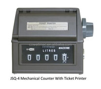 flow meter counter / flow meter mechical counter with ticket printer