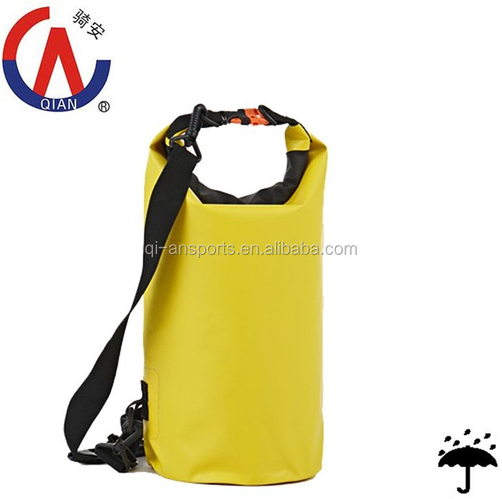 Back Pad Foldable Waterproof Dry Backpack Bag