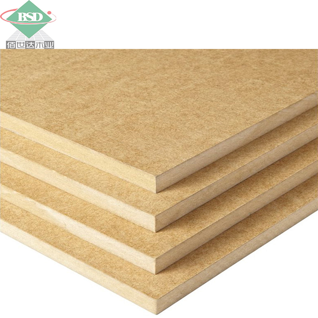 Hot sell China factory melamine MDF board price