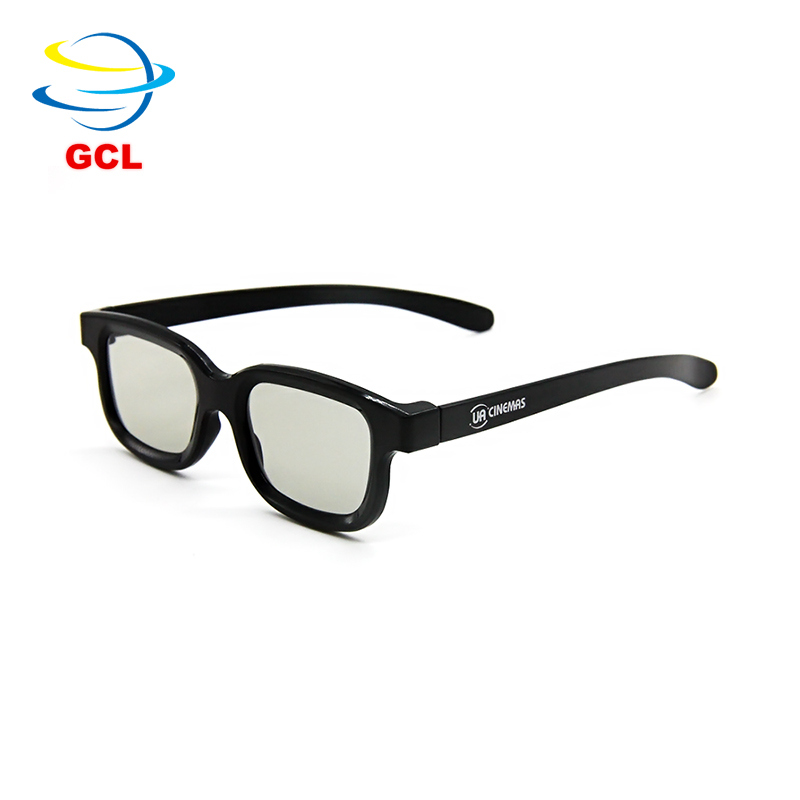 In Stock Circular Polarized Yellow 3D Glasses Lens Material