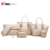 wholesale fashion ladies bags pu leather handbag sets 6 pieces / set tote bag organizer for ladies from china baigou